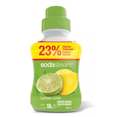 Sirup Lemon Lime Velký 750 ml SODASTREAM