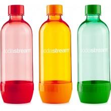 SODASTREAM Lahev TriPack 1l , oranžová, červená, zelená 40028570