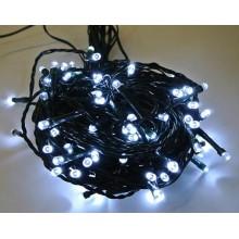 Vánoční osvětlení 120 LED - stálesvítící - BÍLÉ VS430
