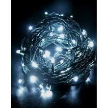 Vánoční osvětlení 100 LED - programovatelné - TEPLÉ BÍLÉ VS451
