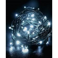 Vánoční osvětlení 50 LED - stálesvítící - BÍLÉ VS453