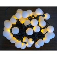 Vánoční osvětlení řetěz - 40 LED - ŽLUTÉ VS5204