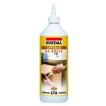 SOUDAL 67A lepidlo na dřevo vodostálé 750 ml