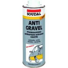 SOUDAL Antigravel přelakovatelný nástřik spray 500 ml, černá
