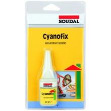 SOUDAL Cyanofix 84A vteřinové lepidlo 20 g