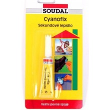 SOUDAL Cyanofix 84A vteřinové lepidlo 3 g