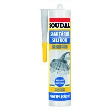 SOUDAL sanitární neutrální silikon 280 ml, bílý