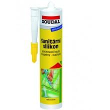 SOUDAL sanitární silikon 280 ml, transparent