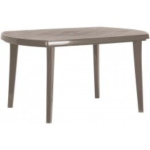 CURVER ELISE stůl 137 x 90 x 73 cm, Cappuccino 17180054