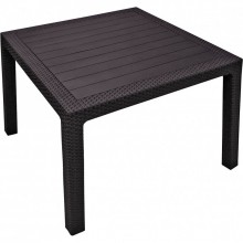 KETER MELODY QUARTED stůl 95 x 95 x 75cm, hnědá 17197992