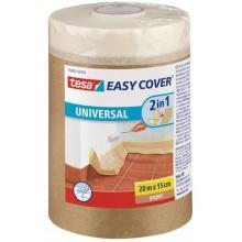 TESA Easy Cover zakrývací papír, malířská páska a náplň, světle hnědá, 20m x 1,5m 58880-00000-00