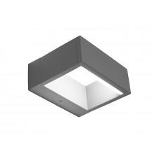 PANLUX TERMOLI N nástěnné LED zahradní svítidlo, neutrální PN42300003
