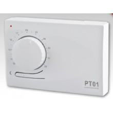 ELEKTROBOCK Elektronický prostorový termostat s automatickým nočním útlumem PT01