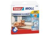 TESA MOLL Silikonové samolepicí těsnění, 6m, bílé 05417-00100-01
