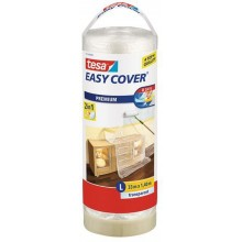 TESA Easy Cover zakrývací fólie, malířská páska a náplň 33m x 1,4m 57115-00000-03