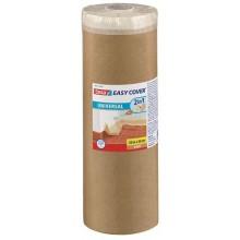 TESA Easy Cover zakrývací papír, malířská páska a náplň, světle hnědá, 20m x 3m 58881-00000-00