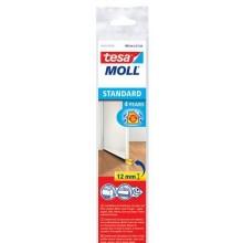 TESA MOLL Kartáčová lišta pod dveře, na hladké povrchy, bílá, 1m x 12mm 05433-00100-00