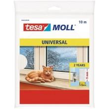 TESA MOLL Pěnové těsnění, na okna a dveře, bílé, 10m x 9mm x 6mm 05452-00101-00