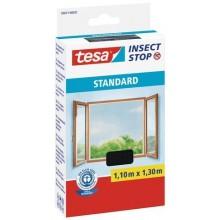 TESA Síť proti hmyzu STANDARD, na okno, antracitová, 1,1m x 1,3m 55671-00021-03