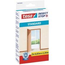 TESA Síť proti hmyzu STANDARD, do dveří, bílá, 2x 0,65m x 2,2m 55679-00020-03