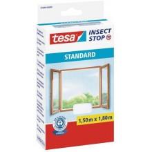 TESA Síť proti hmyzu STANDARD, na okno, bílá, 1,5m x 1,8m 55680-00000-02
