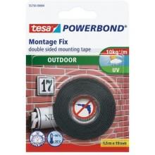 TESA Powerbond Montážní oboustranná pěnová páska pro exteriér, bílá, 1,5m x 19mm 55750-00003-02