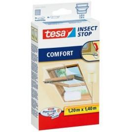 TESA Síť proti hmyzu do střešního okna COMFORT, bílá, 1,2m x 1,4m 55881-00020-00