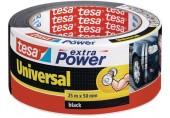 TESAOpravná páska Extra Power Universal, textilní, silně lepivá, černá, 25m x 50mm 56388-00001-07