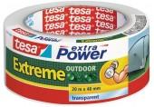 TESAExtra Power EXTREME OUTDOOR, UV odolnost 1 rok, průhledná, 20m x 48mm 56395-00000-00