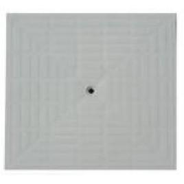 Poklop pochůzný plast 400 x 400 šedý