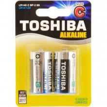 TOSHIBA Alkalické tužkové baterie LR14 2BP C 35040109