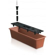 Prosperplast BALCONY CAN Truhlík +zavlažovací systém 60x18x14cm terakota IS6CAN