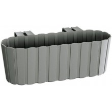 PROSPERPLAST BOARDEE HOOK Truhlík 38,3x21,2x13 cm, šedý kámen DDECZ400