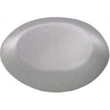"POLYSAN Podhlavník ""UFO"", 40x 17 cm, stříbrná"