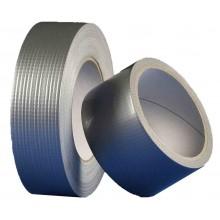 Den Braven - univerzální textilní páska 25mm x 25m - stříbrná B796TE