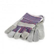 VETRO-PLUS Rukavice hobby kombinované kůže/textil 072440SLG