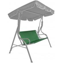 Textilní sedák na houpačku 93 x 114cm, tmavě zelený 5028100