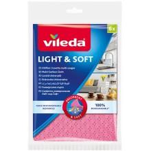 VILEDA Univerzální hadřík Light&Soft 6 ks 150539
