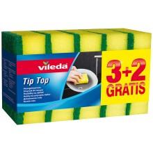 VILEDA Style Tip Top houbička 3+2 ks 149046