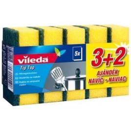 VILEDA Style Tip Top houbičky na nádobí 3+2 ks 149046