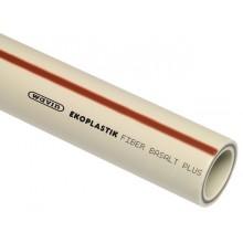PP-RCT trubka Fiber Basalt Plus 40 x 5,5 mm S3,2, STRFB040TRCT