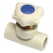 PPR ventil přímý plastový 20mm, 6060200
