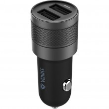YENKEE YAC 2048BK USB autonabíječka černá 4.8A 30014754