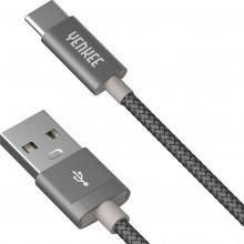 YENKEE YCU 302 GY kabel USB A 2.0 / C 2m 45013684