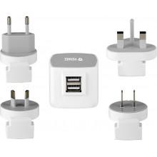 YENKEE YAT 202 Cestovní adaptér USB 3.5A 35045892
