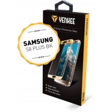 YENKEE YPG 3D03 3D ochranné sklo Galaxy S8+BK 30015577