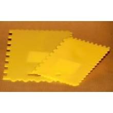 Ruční zubová stěrka PVC malá