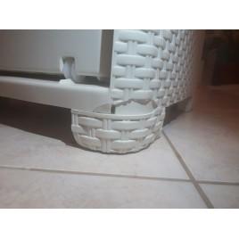VÝPRODEJ CURVER Zásuvka 3x 14l RATTAN Style - krémová, 06604-885 POŠKOZENO