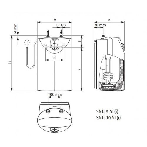 stiebel eltron beztlakov z sobn k mal snu 5 sl 1 kw 221116. Black Bedroom Furniture Sets. Home Design Ideas