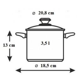 BANQUET Tlakový hrnec 3,5l Allegro 231103